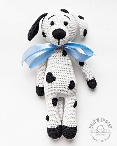 Amigurumi Doggy BWB - Dalmatian White & Black