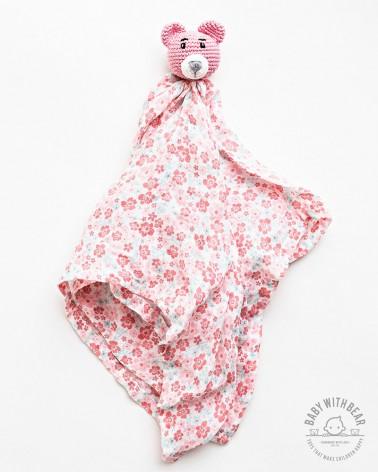 Amigurumi Baby Comforter BWB - MINI Bear Pink