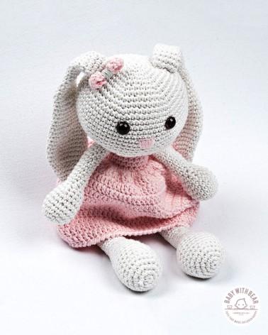Amigurumi BWB - Bunny Doll White & Pink