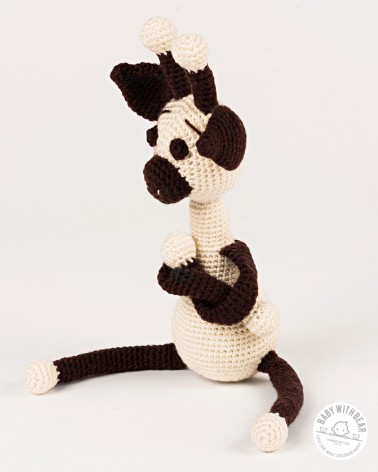 Amigurumi Giraffe BWB - Giraffe Boss White & Brown