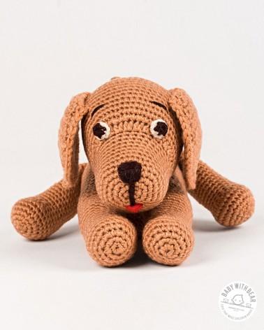 Amigurumi Doggy BWB - Doggy Brown baby with bear