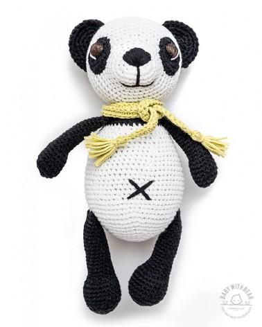 Amigurumi Panda BWB - Panda With Scarf - Baby with Bear