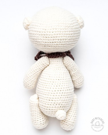 Amigurumi Bear BWB - Bear Miki - Baby with Bear