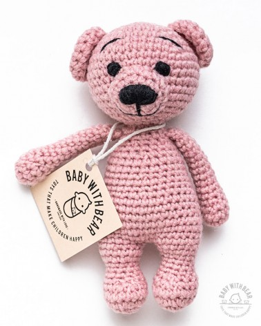 Amigurumi Bear BWB - Bear Tobi - Baby with Bear
