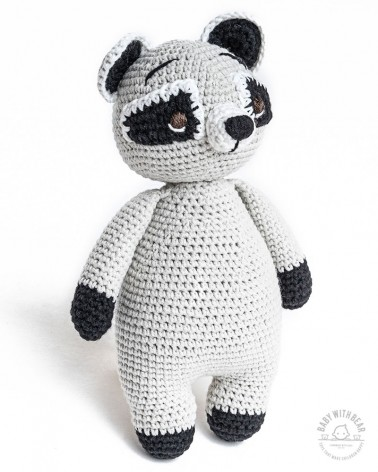 Amigurumi Rackoon BWB - Rackoon Bear - Baby with Bear