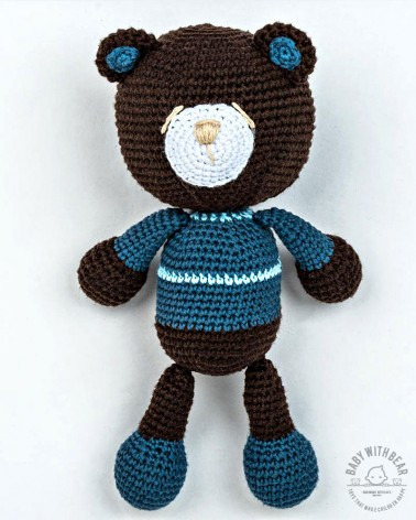 Amigurumi Teddy Bear BWB - Teddy Bear in Shirt