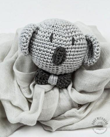 Amigurumi Baby Comforter BWB - Koala Grey