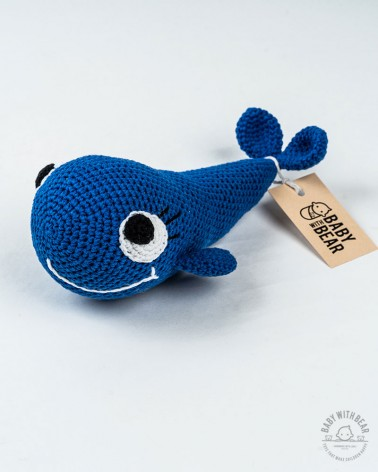 Amigurumi Whale BabyWithBear - Whale Dark Blue