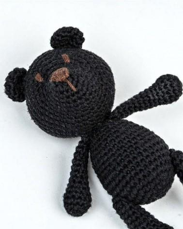 Amigurumi Mini Bear BabyWithBear - Mini Bear Black