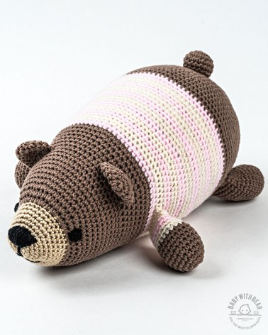 Amigurumi Bear BabyWithBear - Chill Bear Brown