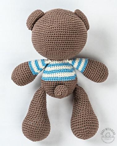 Amigurumi Bear BabyWithBear - Bear Theo in T-Shirt